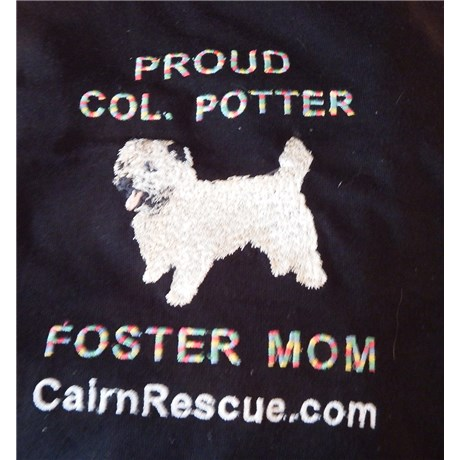 ladies_xl_black_foster_mom_w_link_cotton_short_sleeve_tee